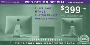 Web Design Special Norcross GA