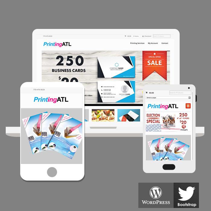 ecommerce website design Atlanta