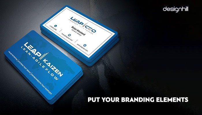 Business Card Design Trends 2018