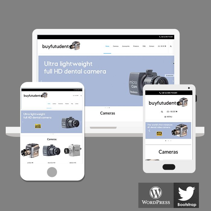 Micro Camera Ecommerce Website
