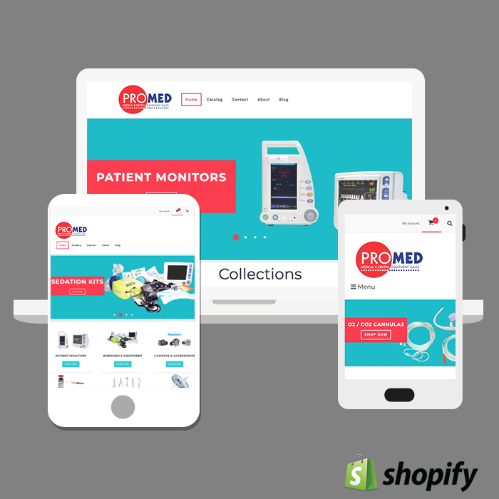 Medical Supply Website Shopify Atlanta