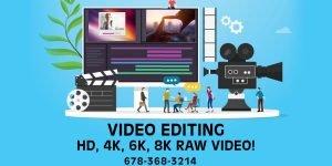 Atlanta Gwinnett Video Editing Services