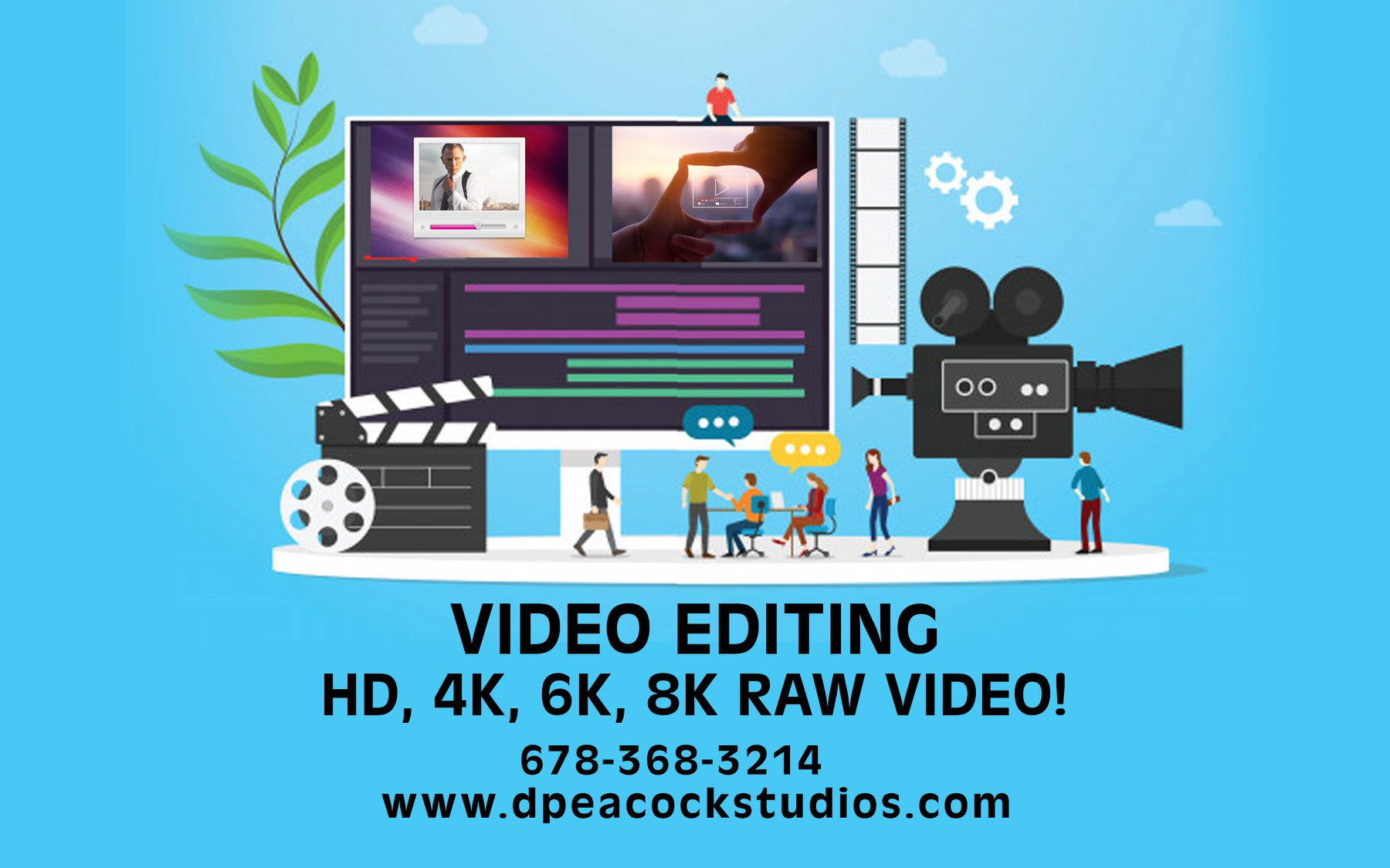 Atlanta Gwinnett Video Editing Services